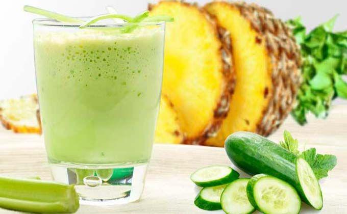 Photo of Suco de abacaxi, pepino, maça e babosa – desintoxica e emagrece