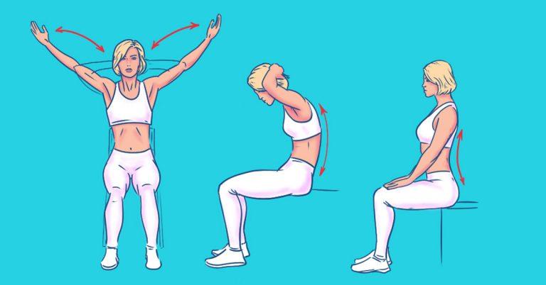 Photo of 5 exercícios eficazes para relaxar as costas: você sente que acabou de sair do massagista