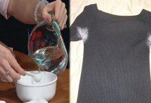 Photo of Escolha qualquer uma dessas opções para eliminar de vez manchas de desodorante de suas roupas